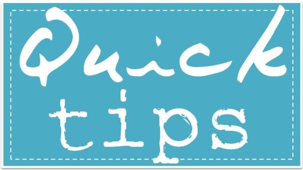 Quick Tips - Decor Diva - The Design Tabloid