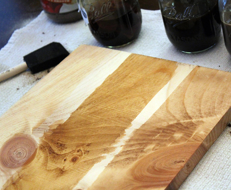 Stain Your Wood With Coffee