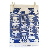 How could I not include a little Skinny LaMinx loveliness! This gorgeous blue teacups dishcloth is R95.00