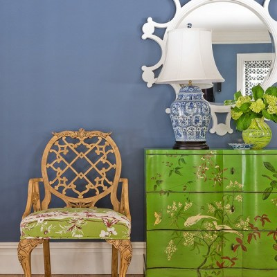 A Chinoiserie inspired Interior by Katie Rosenfeld
