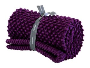 Beautiful Purple Bath Mat