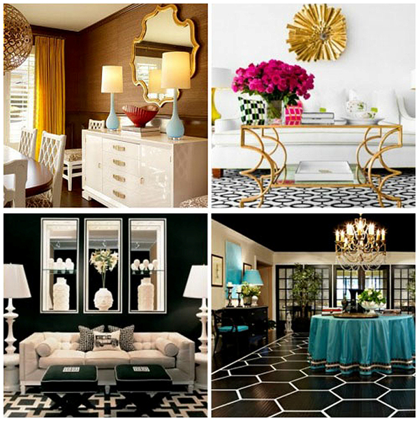 10 Fabulous Living Room Ideas By Kelly Wearstler: Décor Dictionary: Hollywood Regency Style