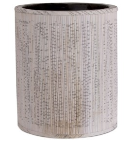 Recycled Paper Waste Basket