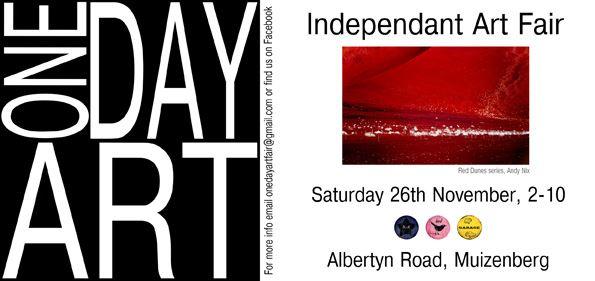 One Day Art Exhibition - Invite