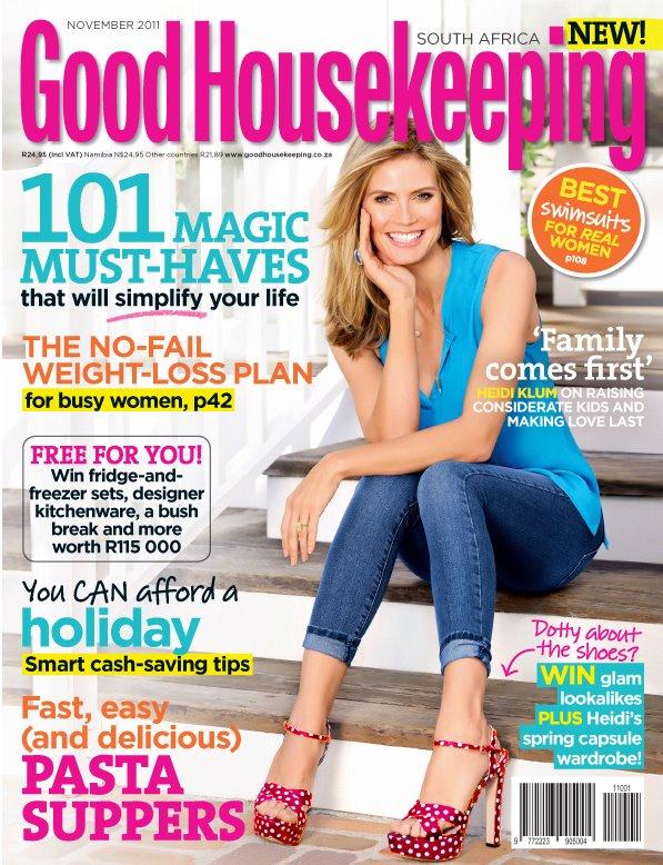 Review: Good Housekeeping Magazine SA | The Design Tabloid Good Housekeeping
