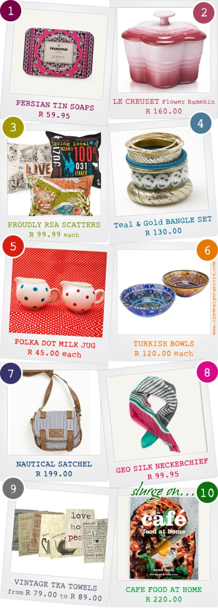 10 Christmas Gift Ideas Under R200