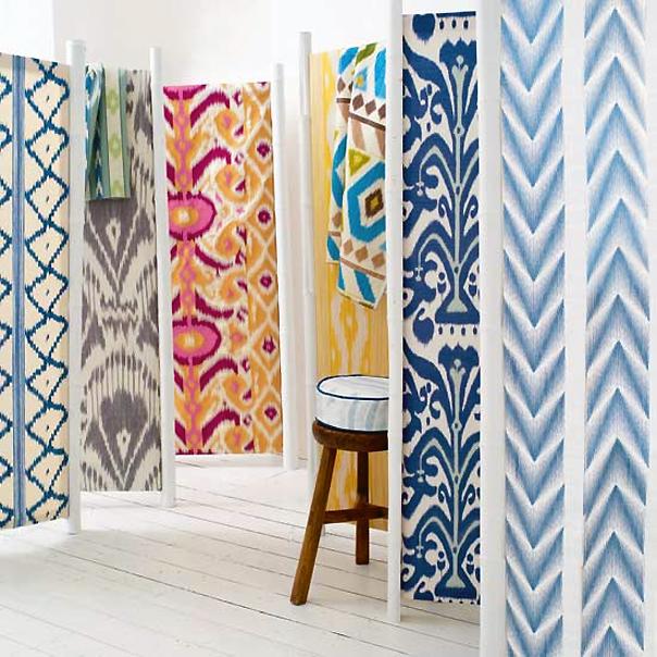 Various Ikat Fabrics