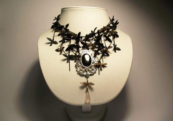 Bird Neckpiece by Eric Loubser