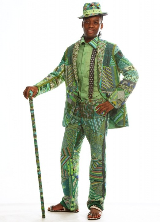 This Intricate Green Beaded Suit At Design Indaba And We Thought St