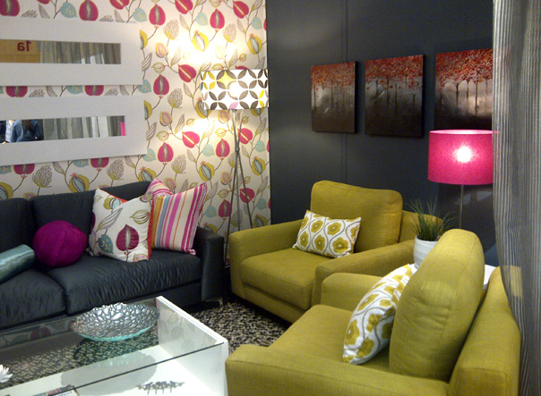 The Bright And Cheery In House Furniture ...