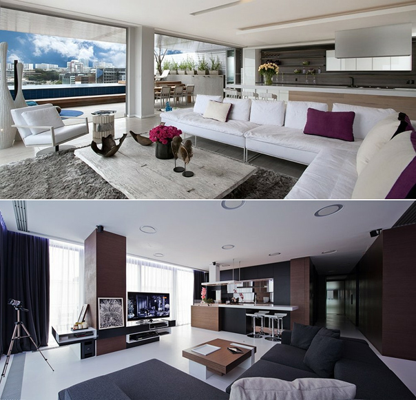 Contemporary vs modern the design tabloid - Contemporary decor ...