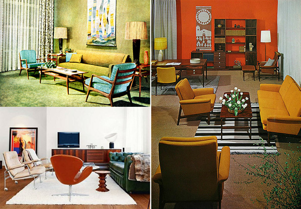 Style the design tabloid for Interior design styles 20th century