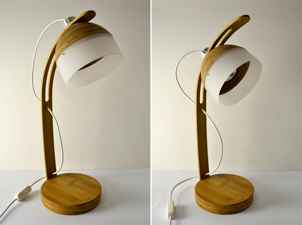 ... Bamboo Desk Lamp By Burghen Siebert
