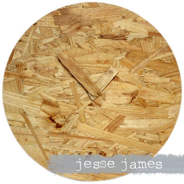 Camo Clock - jessejames ǀ The Design Tabloid