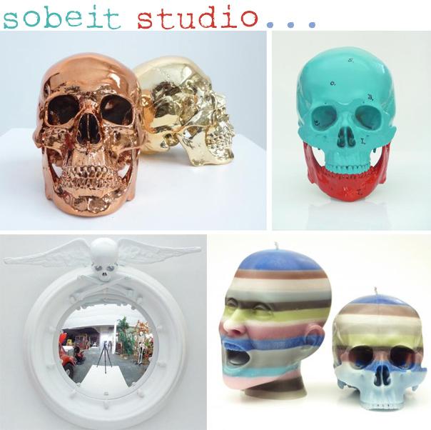 Various Skull Decor by Sobeit Studio