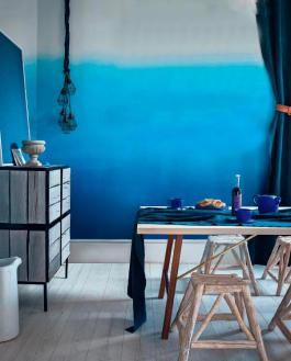 "Love this Ombre wallpaper range by Designer's Guild! It's called ""Saraille"""