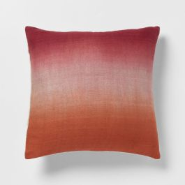 Ombre dip-dye cushion cover from West Elm.