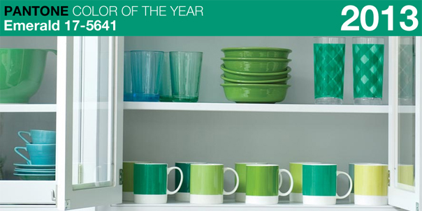 Pantone Colour Of The Year 2013 - Emerald l The Design Tabloid (1)