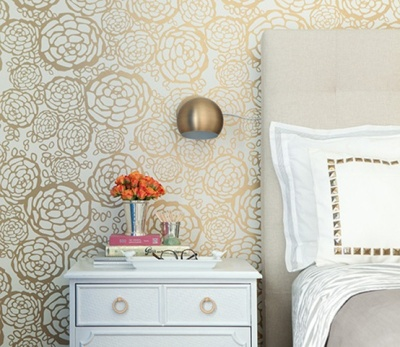 Home of Jess Lively - the amazing wallpaper is by Oh Joy! for Hygge & West!   via Design*Sponge