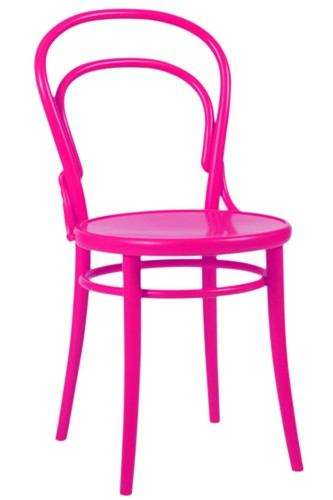 Hot Pink Thonet Bentwood Chair | via abchome.com