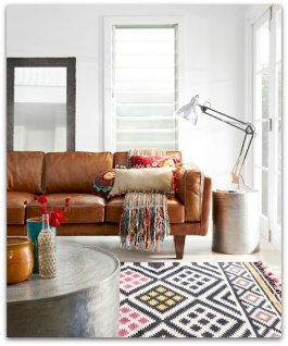 Mid-Century Lounge meets Ethnic | http://www.desiretoinspire.net/blog/2012/2/26/freedom-sneak-peek.html