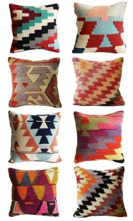 Turkish Kilim Pillows | http://www.etsy.com/shop/sukan?ref=seller_info_count