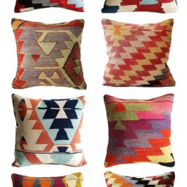 Turkish Kilim Pillows | http://www.etsy.com/shop/sukan?ref=seller_info_count
