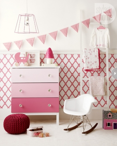 Ann Marie Favot put her signature stamp on IKEA's versatile Tarva dresser | http://www.styleathome.com/how-to/diy-decor/easy-makeover-one-dresser-three-ways/a/45450/4
