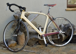 Wood and Carbon Bike by David Stubbs