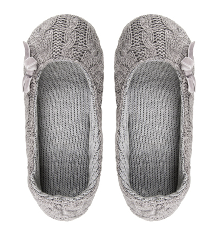 Cable Knit Slippers Woolworths The Design Tabloid