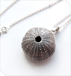 I absolutely adore this unique Dark Urchin Necklace designed by Chris Krafft! It's so stunningly beautiful I might steal this one for myself. Available from Meekel - R 621.00 | http://www.meekel.co.za/jewellery/dark-urchin-necklace