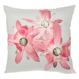 The Three Pink Flowers Cushion, handcrafted by It's Me Tanya, is soft, fresh & feminine! via 5rooms.com - R 549.00 | http://www.5rooms.com/gifts/It-s-Me-Tanya-Three-Pink-Flowers-Cushion-With-Inner-Pillow-11648.html