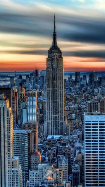 Empire State Building, New York | Image: http://mobile.wallpapersus.com/empire-state-building-new-york-united-states-city/