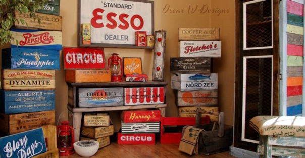 Bespoke Vintage Decor by Oscar W Designs ǀ The Design Tabloid