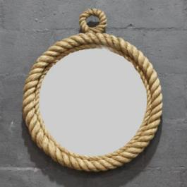 Nautical Rope Mirror from Block & Chisel | via http://www.blockandchisel.co.za/products/catalogue/modern-country-style/rope-mirror-sml