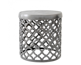 Sandcasted Nickel Side Table available from Weylandts | via http://www.weylandts.co.za/product/sandcasted-occasional-table-nickel