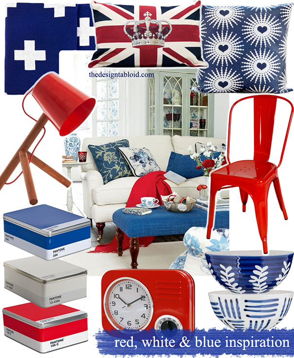Red White & Blue Colour-Coded Inspiration ǀ The Design Tabloid (2)