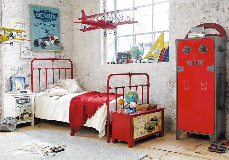 boys bedroom ideas via the design tabloid 4
