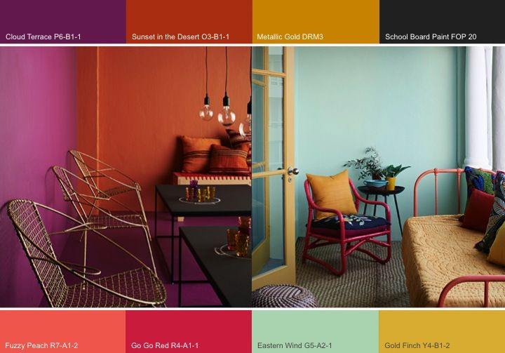 "Plascon 2014 Colour Forecast – ""Urban Tribe"""
