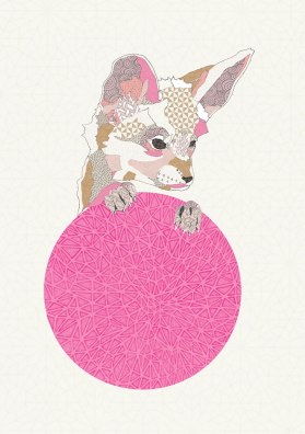 Natalia Segerman - Baby Fox {The Design Tabloid}