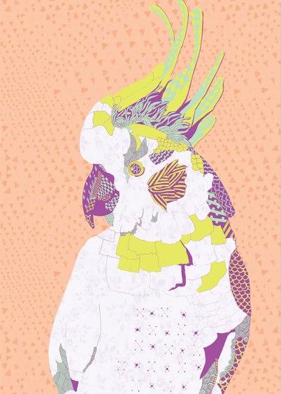 Natalia Segerman - Cockatoo {The Design Tabloid}