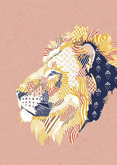 Natalia Segerman - Lion {The Design Tabloid}