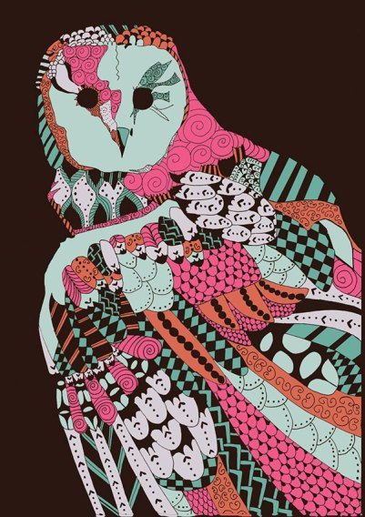 Natalia Segerman - Owl {The Design Tabloid}