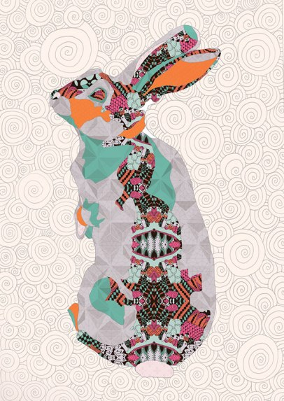 Natalia Segerman - Rabbit {The Design Tabloid}