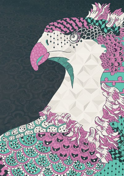 Natalia Segerman - Royal Pheasant {The Design Tabloid}