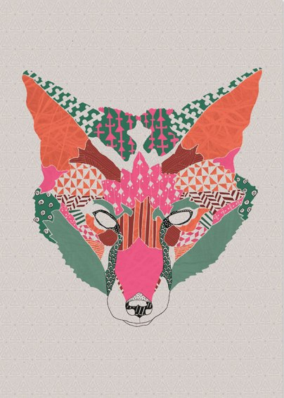 Natalia Segerman - Wolf {The Design Tabloid}