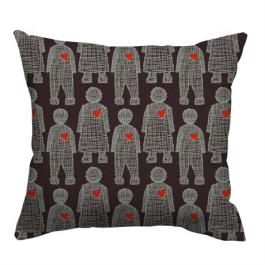 "Quirky ""Love Doll"" cushion from design Team via CityMob 