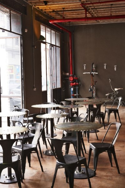 Truth HQ Coffee Café - Steampunk Interior (8)