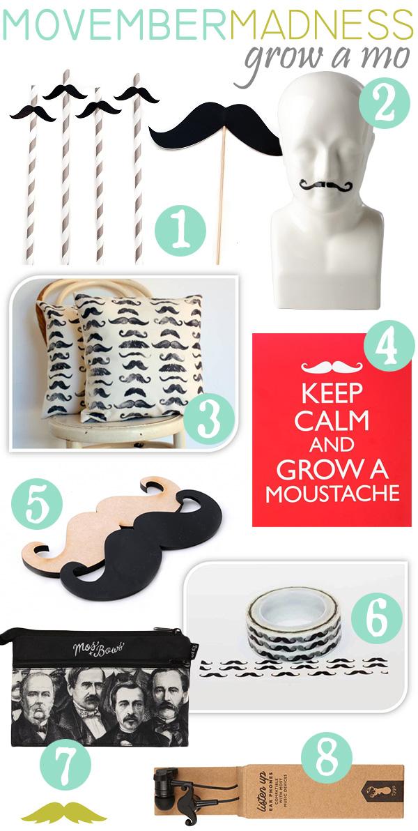 Movember-Madness---Moustache-Decor-{The-Design-Tabloid}