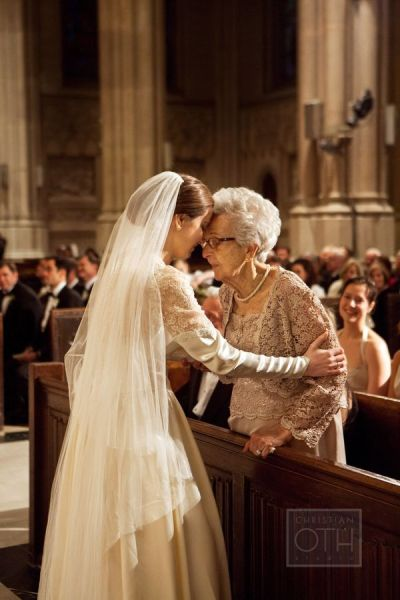 Perfect & lovely acknowledgement of a strong bond between two women of different generations. Says it all... | http://www.christianothstudio.com/home